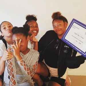 Girls with Jack Petchey award copy